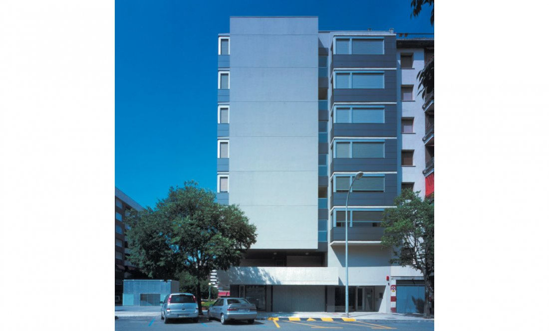 apartamentos tutelados iturrama 02. Apezteguia architects