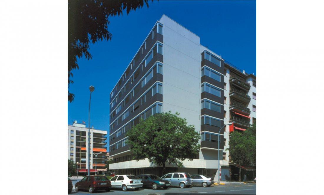 apartamentos tutelados iturrama 03. Apezteguia architects