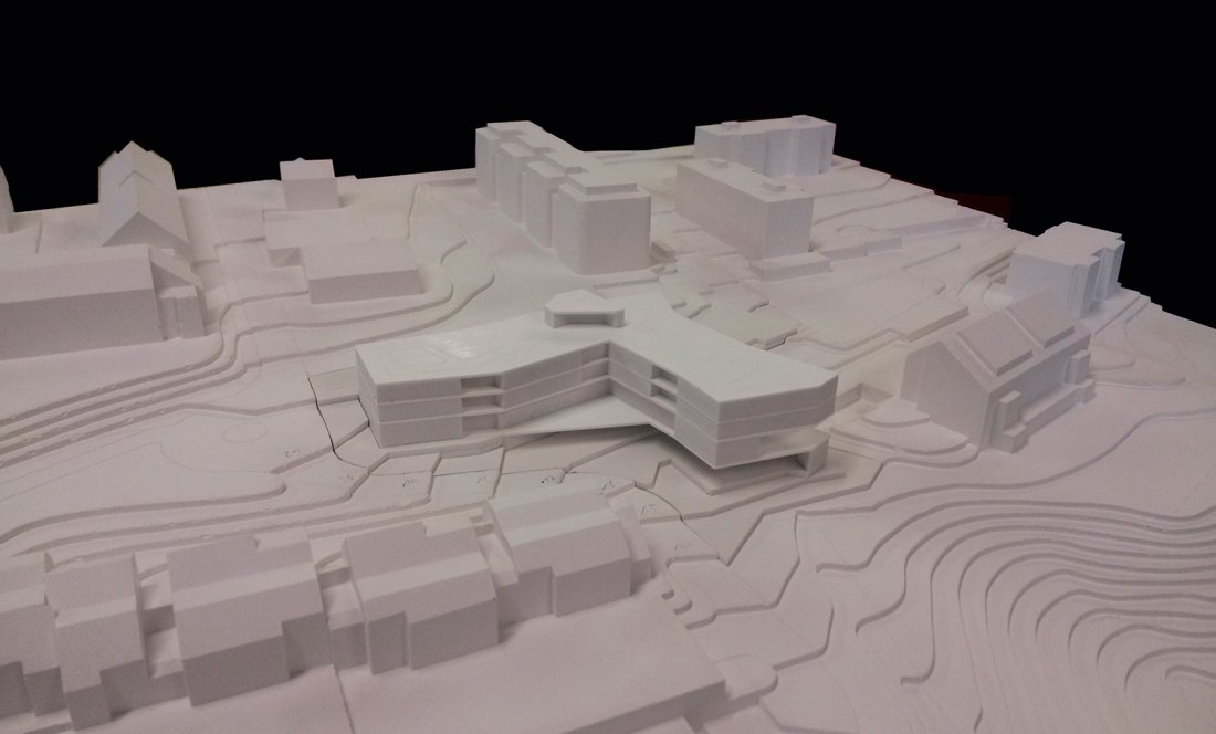 EMS LES TINES_NYON_MODEL 2_APEZTEGUIA Architects